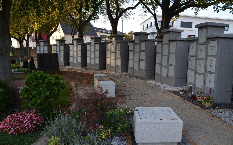 Kolumbarium II auf dem Neuen Friedhof in Eickel fertiggestellt