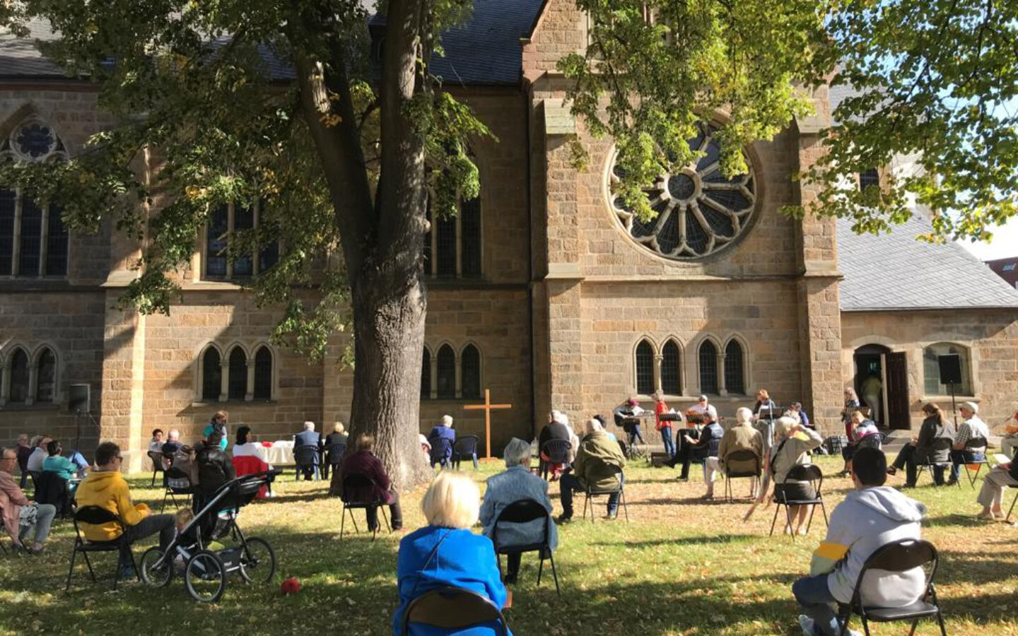 Open-Air-Gottesdienst in Eickel