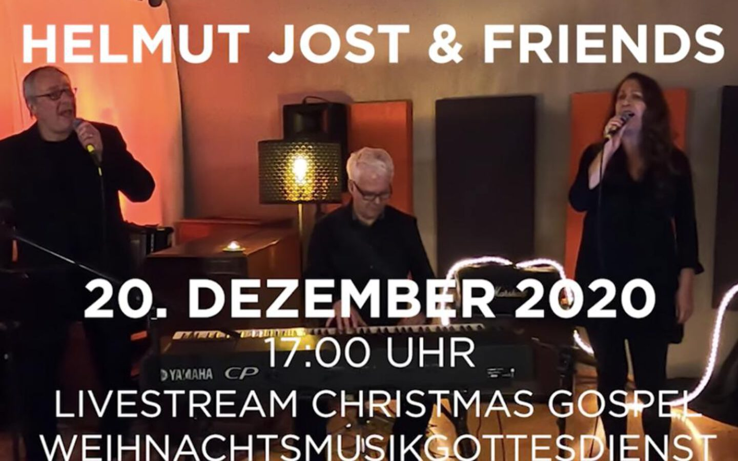 Gospelgottesdienst im Live Stream in der Johanneskirche am 4. Advent