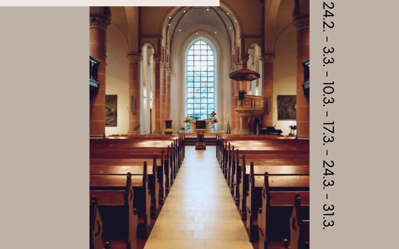Offene Kirche zur Passionszeit