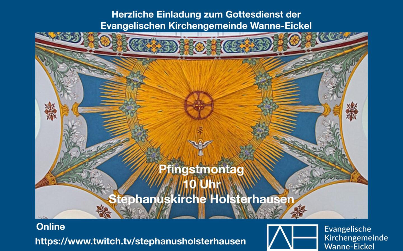 Pfingstmontag – gemeinsam in der Stephanuskirche