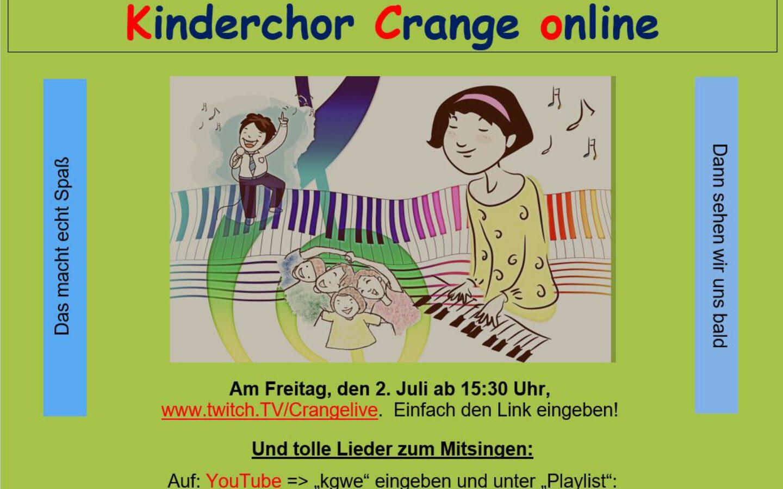 Kinderchor Crange Online