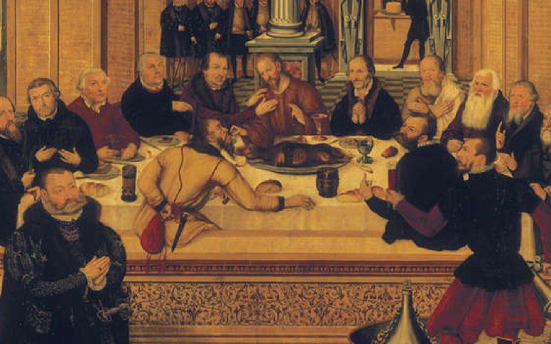 Das Heilige Abendmahl in der Stephanuskirche