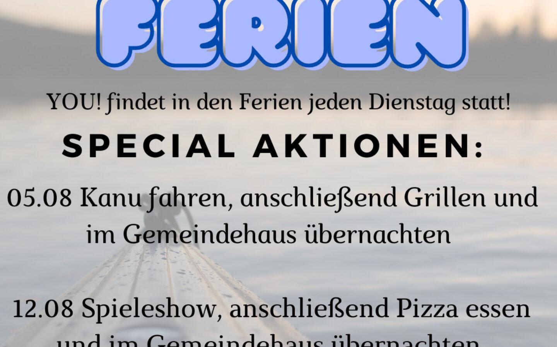 YOU! Ferienprogramm in Holsterhausen
