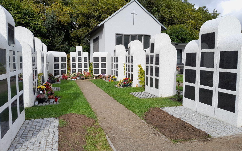 Neue Kolumbarien-Kammern in Röhlinghausen